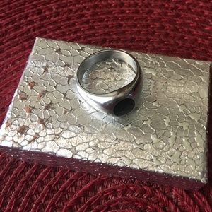 Stainless Steel Signet Ring Size 10